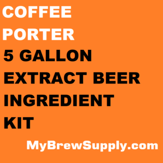 MBS Coffee Porter 5 Gallon Extract Kit