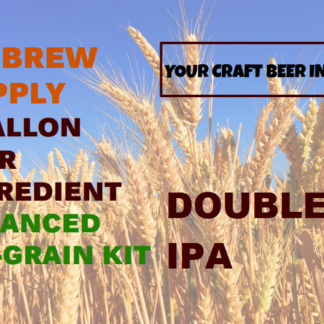 MBS Double IPA All Grain Kit