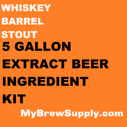 MBS Whiskey Barrel Stout 5 Gallon Beer Extract Ingredient Kit